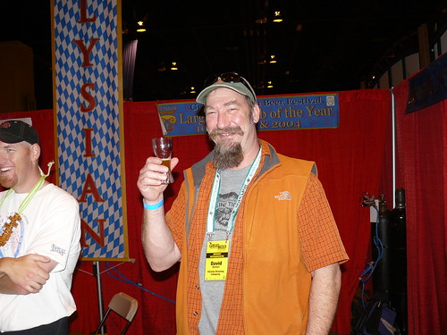 David Buhler from Elysian at the 2008 GABF.