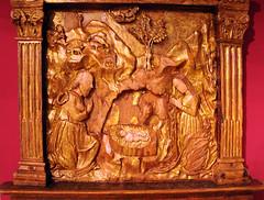 Museo Baroffio e del Sanmtuario del Sacro Monte sopra Varese (renzodionigi) Tags: sculpture nativity basrelief nativit bassorilievo sacredart artesacra