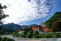 Celje: Castle and The Capuchin Monastery (Lucio Jos Martnez Gonzlez) Tags: travel viaje castle church geotagged iglesia monastery slovenia slovenija castillo eslovenia starigrad celje luciojosmartnezgonzlez luciojosemartinezgonzalez kapucinskisamostan geo:lat=462264566666716 geo:lon=15264766666674