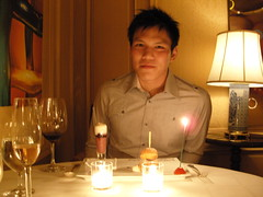 The dining room at Ritz Carlton (-bLy-) Tags: birthday melting carlton room pot ritz billy dining 23