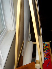 Mala easel, modified