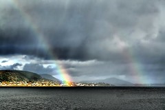 More showers = more rainbows! (larigan.) Tags: sea sunlight rain clouds rainbow showers doublerainbow valdery abigfave isawyoufirst larigan valderyfjord phamilton rainbowsforallourbelovedpetsibelievewewillallbereunited hermesvirgulebilbopollypippinjennypuss abigrainbowforhermesforvirgulethankyoupatricia licensedwithgettyimages