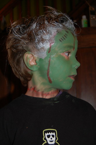 Frankenstein makeup and hair