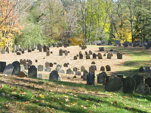 Norwichtown, CT old burial grounds