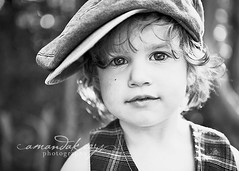 Isaiah ({amanda}) Tags: boy hat backlight kid spring afternoon child naturallight 3years bnw 2470l threeyears amandakeeysphotography