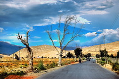 Au revoir Baluchistan. (Commoner28th) Tags: road street blue pakistan sky people mountain tree lamp clouds landscape earthquake highway ahmed csa aurevoir agha quetta baluch waseem commoner pashtun baluchistan ziarat anawesomeshot kommoner commoner28th ocommoner28th
