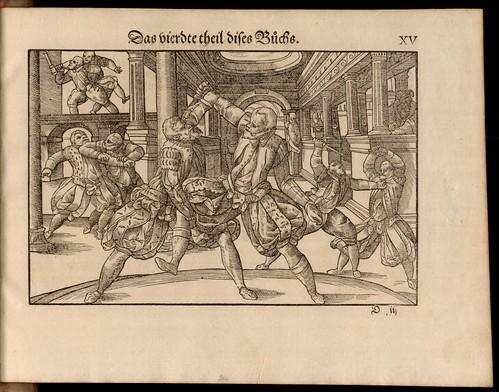 Joachim Meyer - Gründtliche Beschreibung des Fechtens 1570g