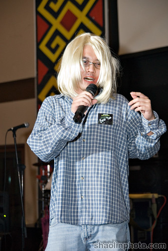 Tim as Kurt Cobain