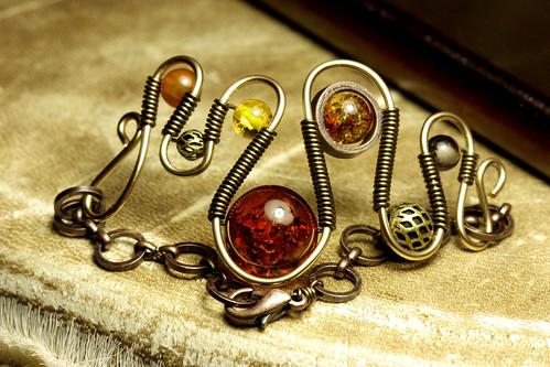 Steampunk Jewelry Bracelet made by CatherinetteRings by Catherinette Rings Steampunk.