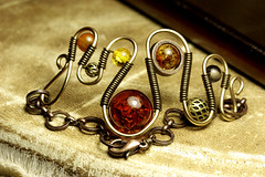 Steampunk Jewelry Bracelet made by CatherinetteRings