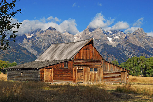 Mormon Row, Grand Teton National Park -1121b