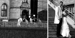 wedding album (Weda3eah*) Tags: wedding white black smile by museum germany happy day dress chocolate album qatar coln weda3eah
