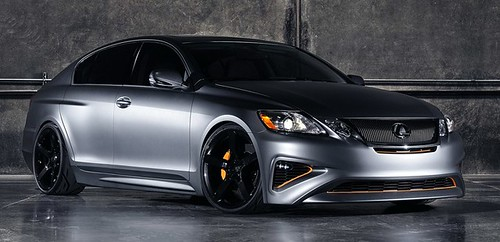 Five Axis Lexus GS 460