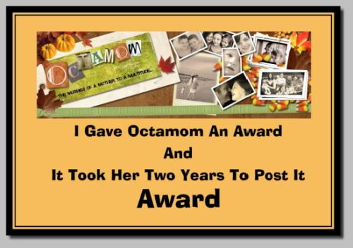 Octamom award