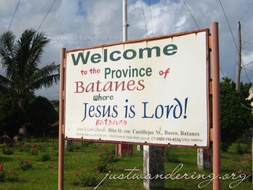 Batanes: Where Jesus is Lord!