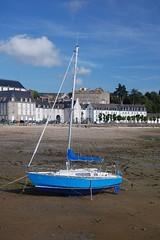Saint-Servan - bateau - plage