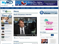 NBC17 interview with Martin Brossman about Linkedin and Jobs