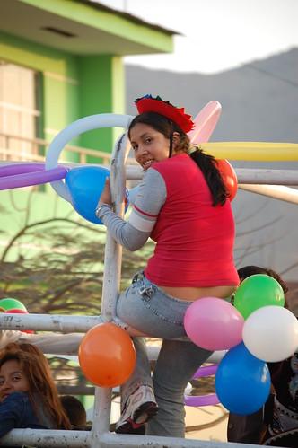 Parade in Peru