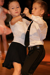 Why can't they be just kids? (Janny Brocken) Tags: kids dance young ballroom janny copple serieus jannybrocken