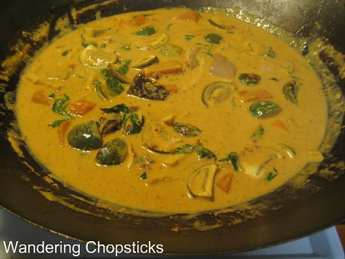 Thai Red Curry with Roast Duck, Bamboo Shoots, Eggplant, and Pumpkin 8