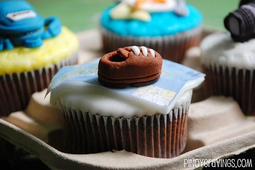 Philippine Map Cupcake Fondant