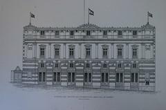 Dibujo fachada Plano original de la Fachada