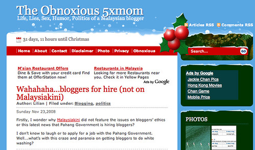 5xmom Christmas WordPress theme
