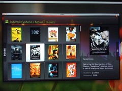 Boxee And Movie Trailers