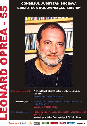 26 Noiembrie - 12 Decembrie 2008 » Leonard OPREA 55