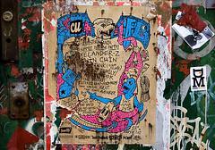 scum life ([carlo cravero]) Tags: life street door city nyc summer urban usa streetart ny newyork colors brooklyn photoshop canon us concert unitedstates gig scum williamsburg tamron 2008 lightroom troma 2875mm eos40d