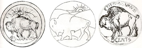 Fraser Buffalo Drawings
