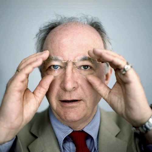 Philip Pullman by Lisa Barnard