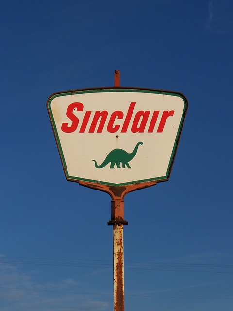 OH Fletcher - Sinclair Sign
