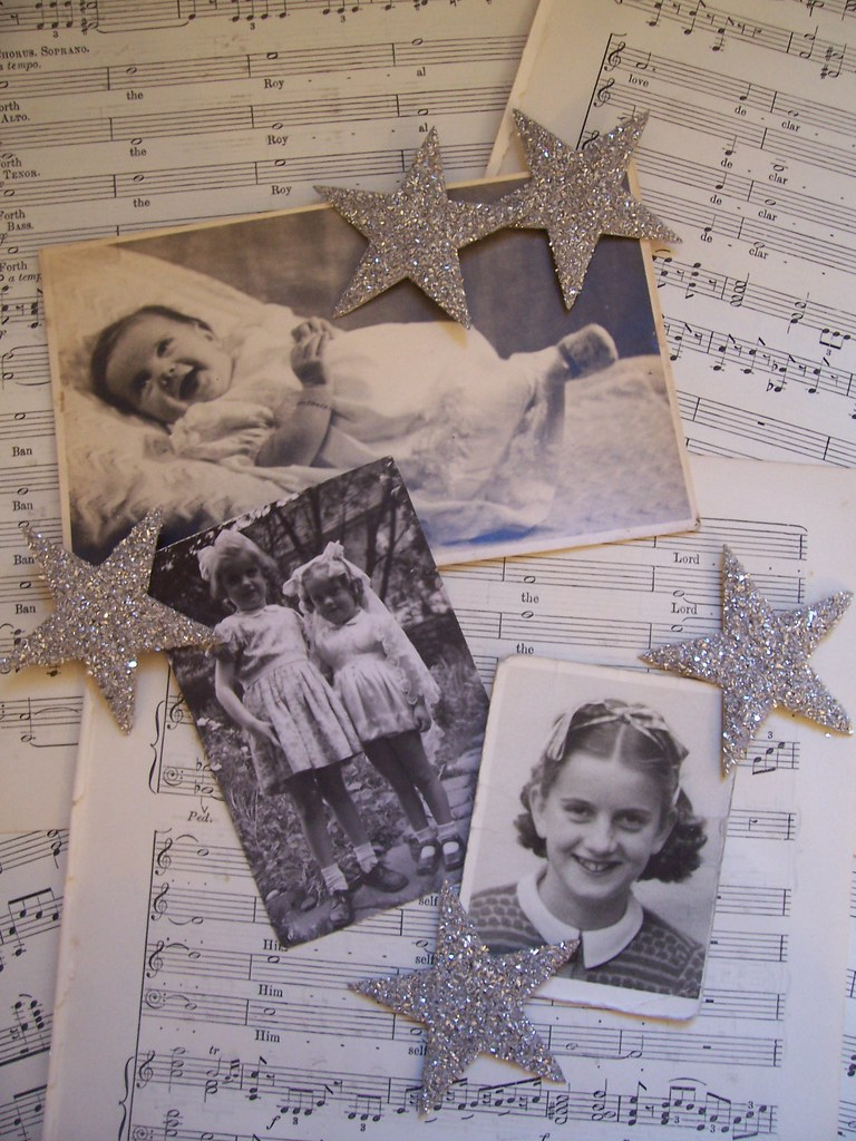 Original photographs that inspired to make the tree decorations