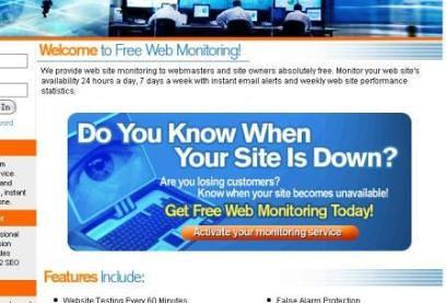 [網站管理工具]你知道你的網站什麼時候掛掉嗎?