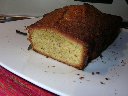 cake arancia mandorle