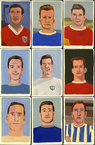 Footballers by Jack Teagle.