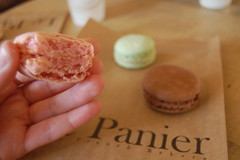 Macaron from Le Panier in Pike Place Market