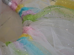Rainbow Glitter Tutu