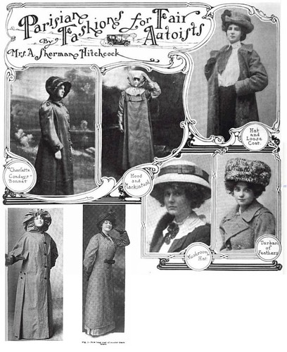 women style from 1910