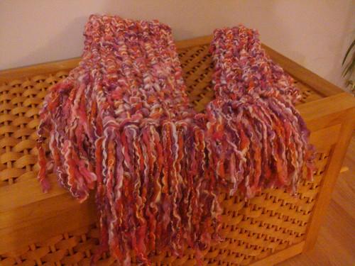 Chaya & Necha's scarves