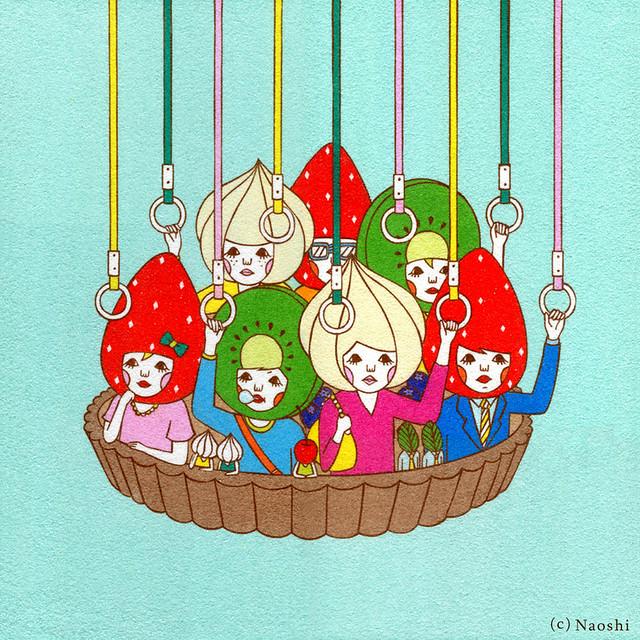 砂絵アーティスト Naoshi
