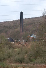 Chimney in the woods (Halliwell_Michael ## Offline mostlyl ##) Tags: trees chimney canal canals westyorkshire elland brighouse calderdale millchimney calderhebble