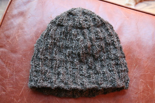 Paris-Roubaix hat, out of handspun