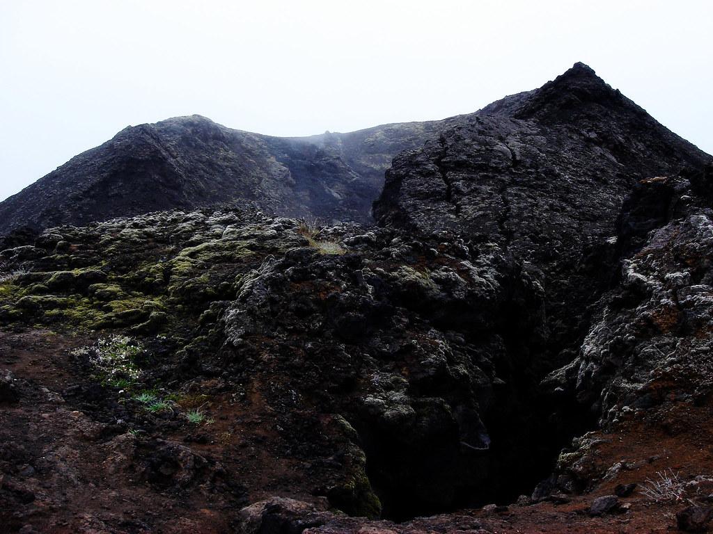 Lava stone at Krafla II.