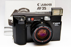 Canon AF35ML (Rolf F.) Tags: camera old 2 film analog canon equipment ii pointandshoot analogue cameraporn autofocus af35ml canonaf35ml autoboy af35 canonaf35m rabbitriotnet