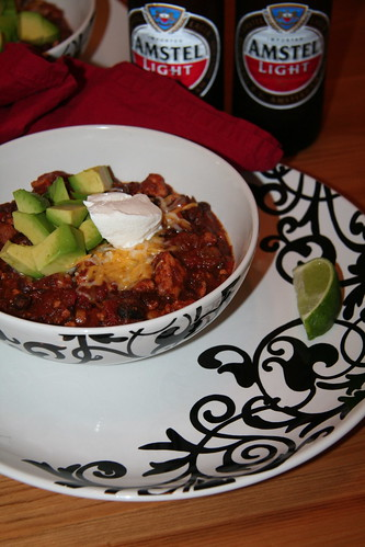 California Black Bean Chili