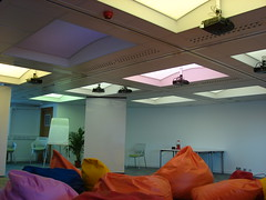 Lighting Panels, Creativity Zone, CETL, University of Brighton