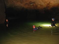 Grotta del Bue Marino (dolopo) Tags: sardegna lago cave acqua freddo luce grotta buio fiamma escursione calcare speleologia buemarino carburo acetilene speleologo
