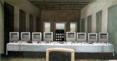 La ultima cena de los iPod